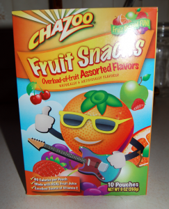 Chazoo Assorted Fruit Snacks