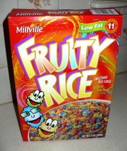 Millville Fruity Rice Cereal