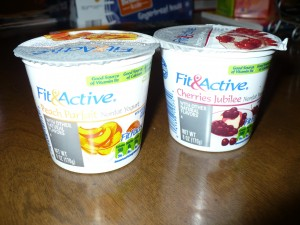 Fit & Active Yogurt