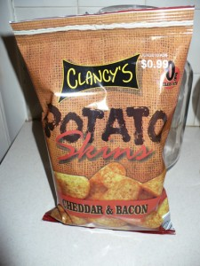 Clancy's Cheddar & Bacon Potato Skins