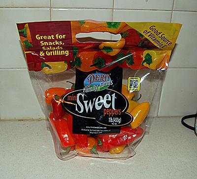 Pero Mini Sweet Peppers