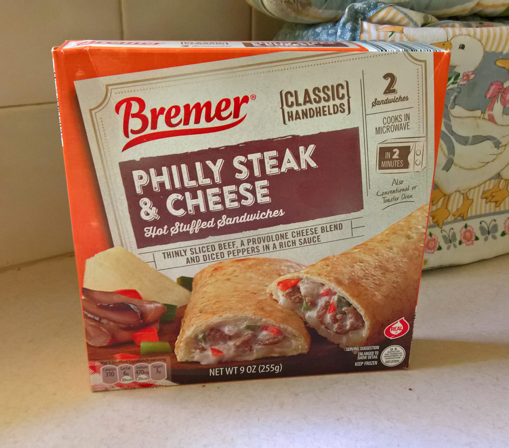 Bremer Philly Steak and Cheese